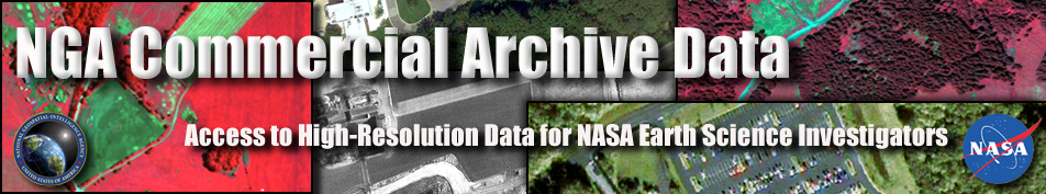 NGA Commercial Archive banner